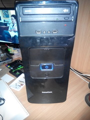 Продам системный блок Celeron G1840/Asus H81M-C/4Gb/WD 500Gb/400W/DVD
