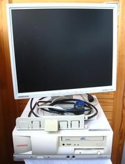 Продаю персональный компьютер (системный блок Compaq,  LCD монитор 17)